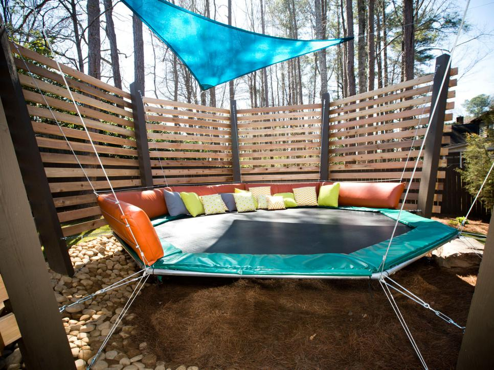 Family friendly outdoor spaces hgtv for Backyard ideas for adults