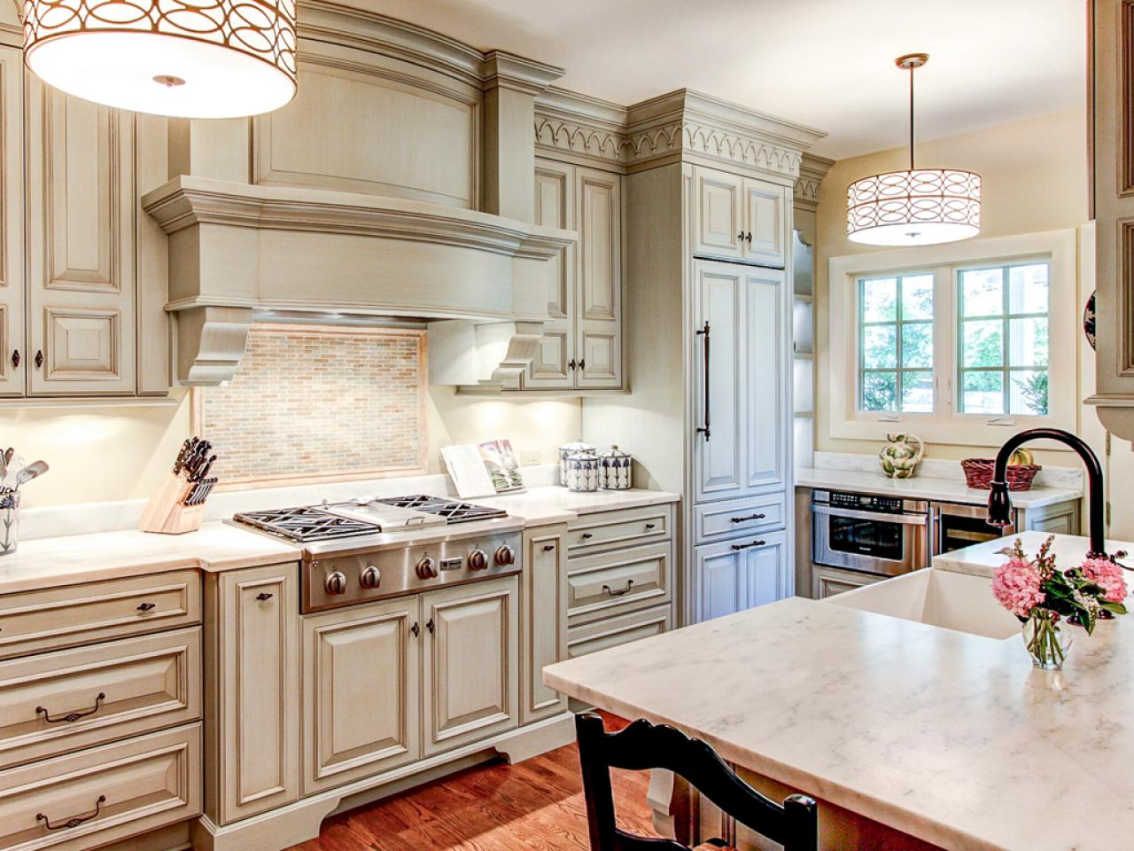 Interior Kitchens And Cabinets best way to paint kitchen cabinets hgtv pictures ideas hgtv