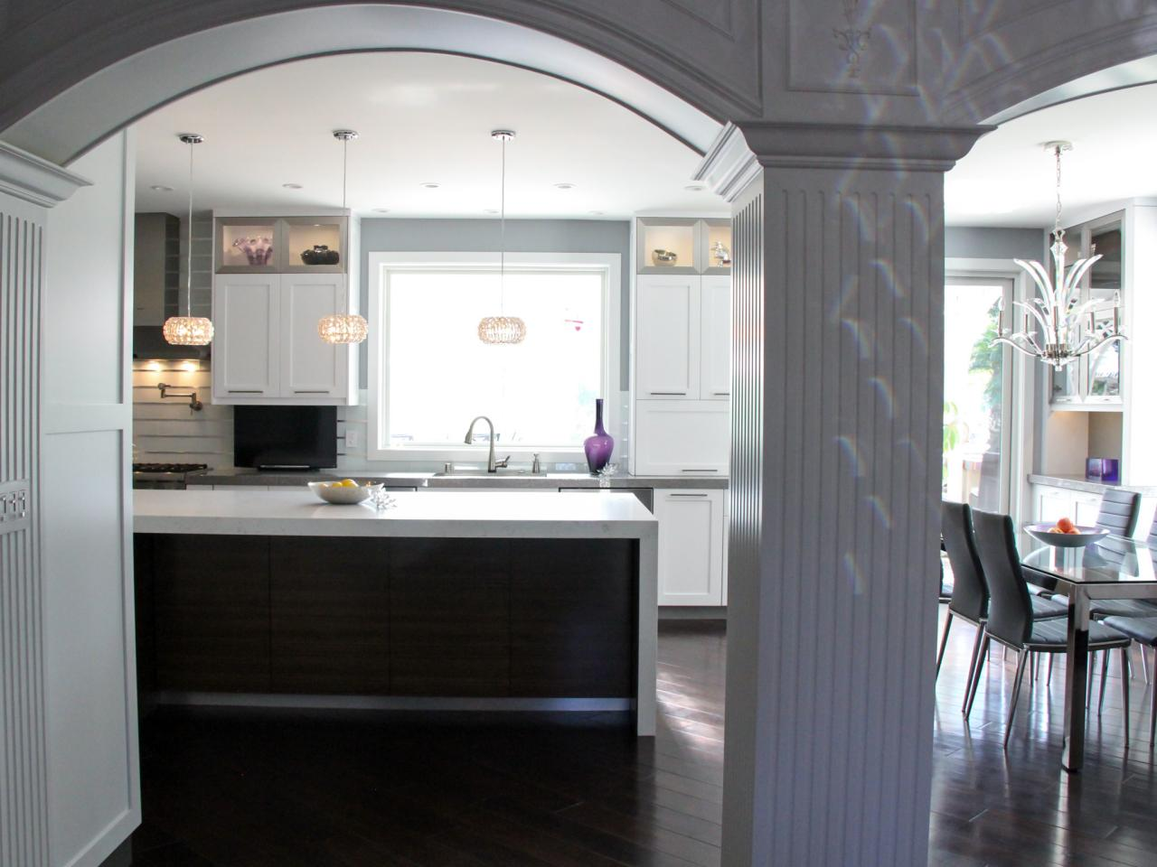 Open Kitchen Arch Design
