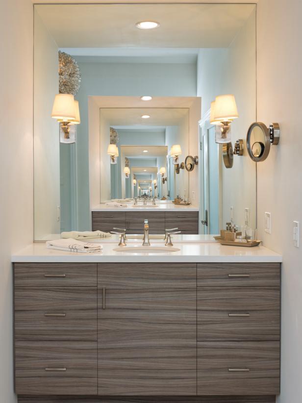 Master Bathroom Custom Facing Vanities