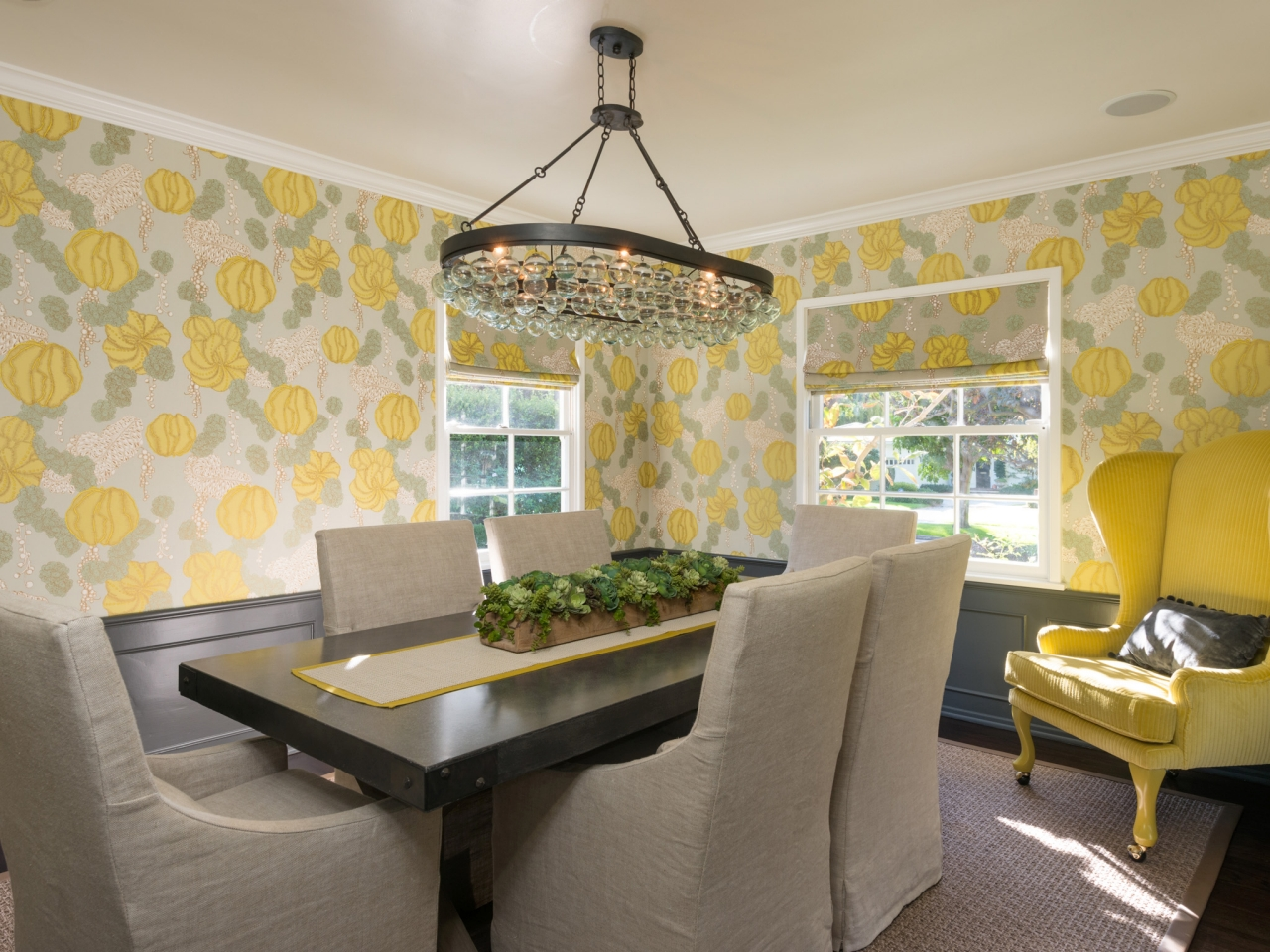 If you like cheery pastels try misted yellow a muted for Dining room 101 heswall