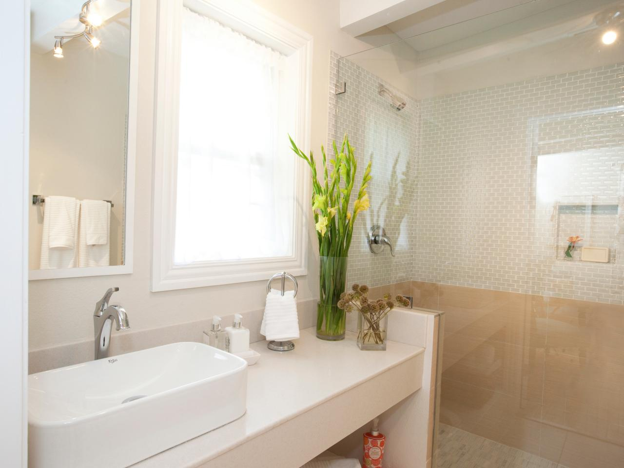 20 luxurious bathroom makeovers from our stars bathroom for Bathroom designs hgtv