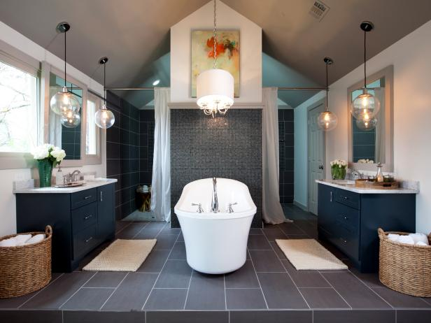Spa Style Master Bathroom Retreat