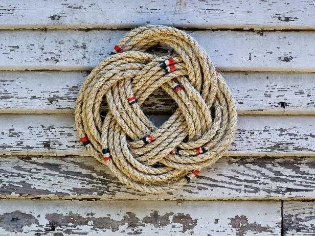 Nautical Rope Wreath