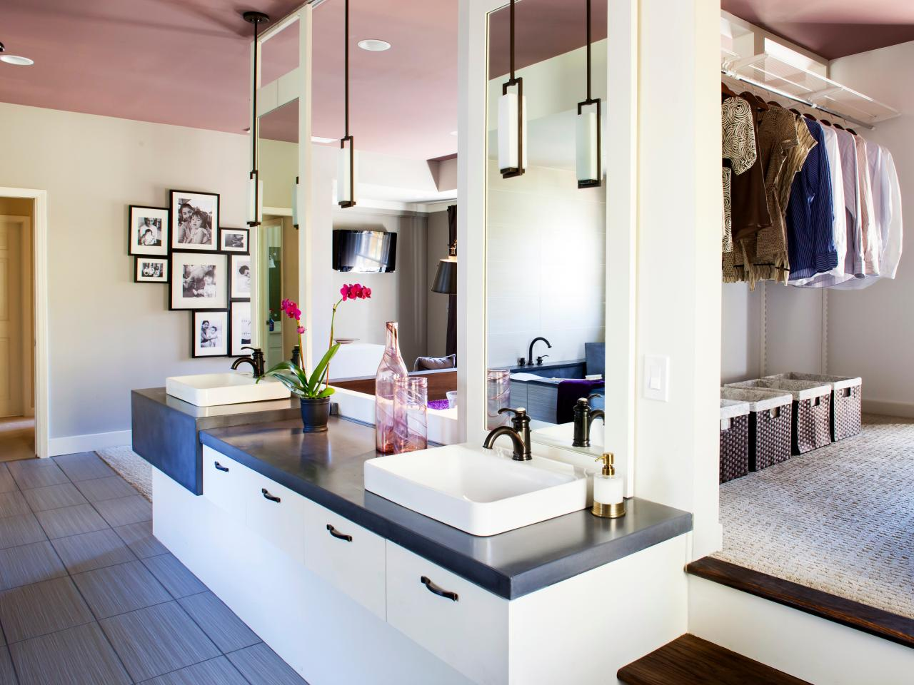 Walk in tub designs pictures ideas tips from hgtv hgtv for Closet bathroom suites