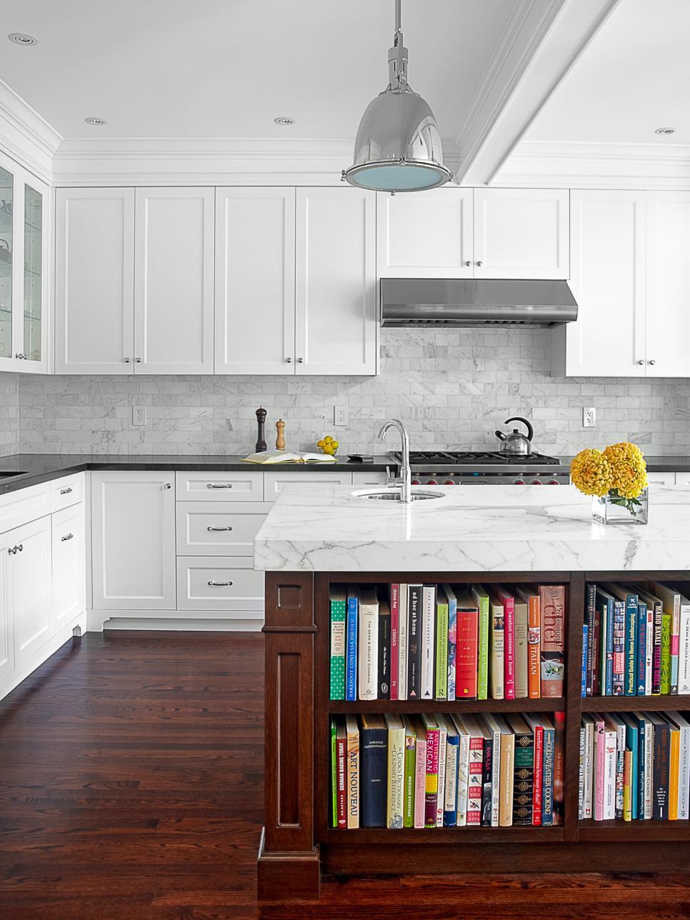 Modern Kitchen Counter contemporary slab counter 10 High End Kitchen Countertop Choices Hgtv