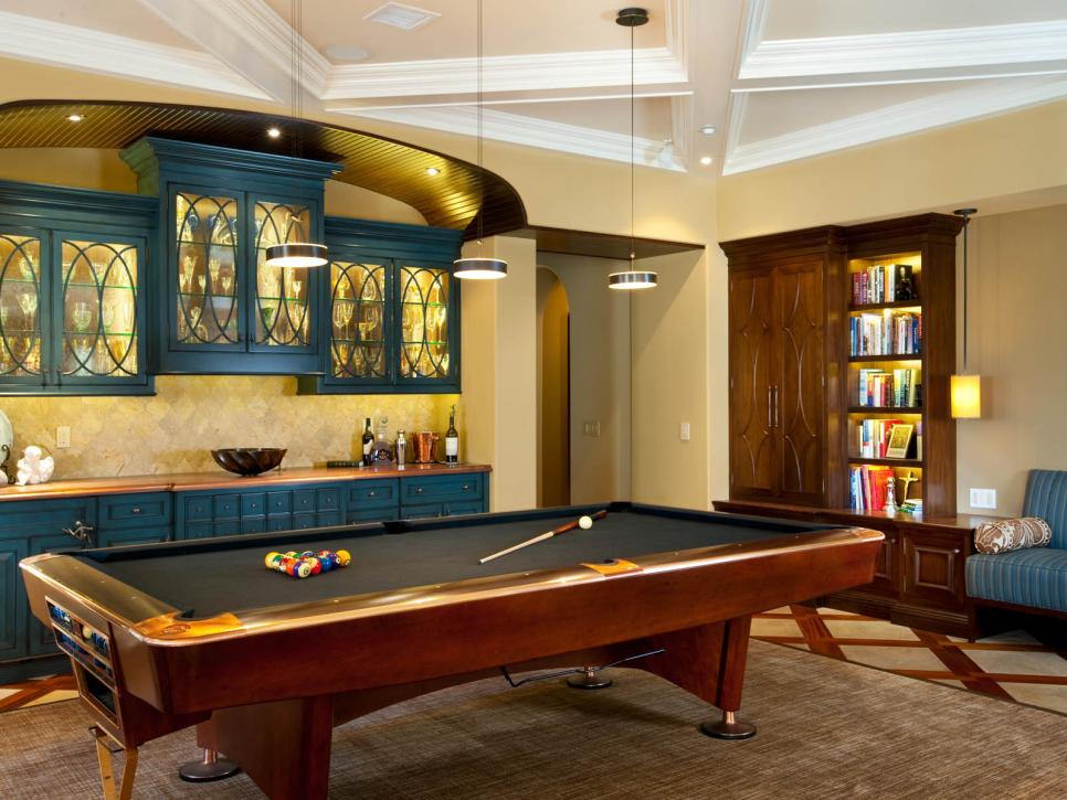 Game room design game room ideas gallery hgtv for Living room ideas quiz