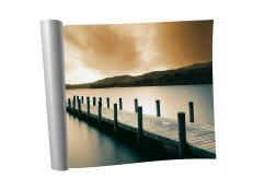 Print Of Dock And Water Used To Create Composite Art