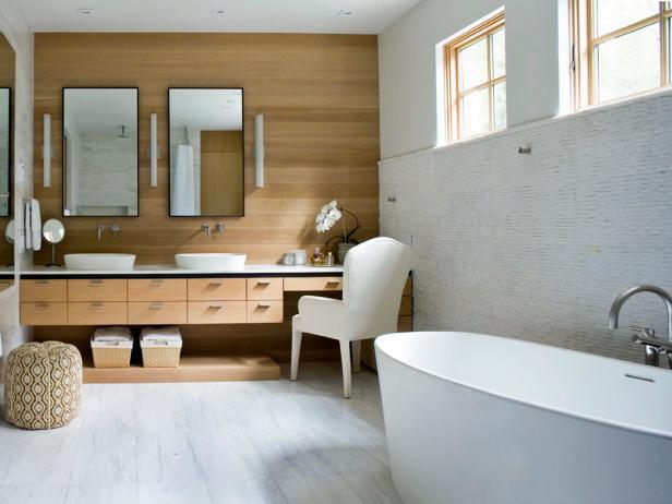 Natural Spa-Style Bathroom