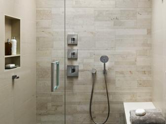 Huge Walk-In Shower