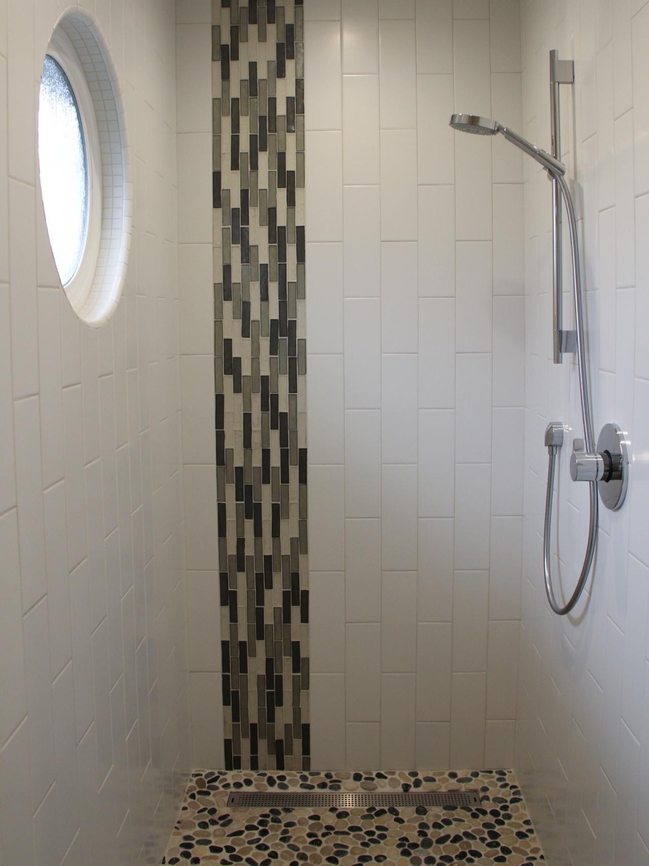 Photo page hgtv for Modern bath tile design