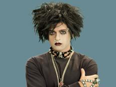 Adult Goth Rocker Halloween Make-Up & Accessories
