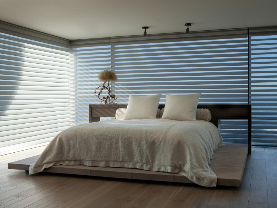 20 dreamy window treatments for the bedroom hgtv Window coverings for bedrooms