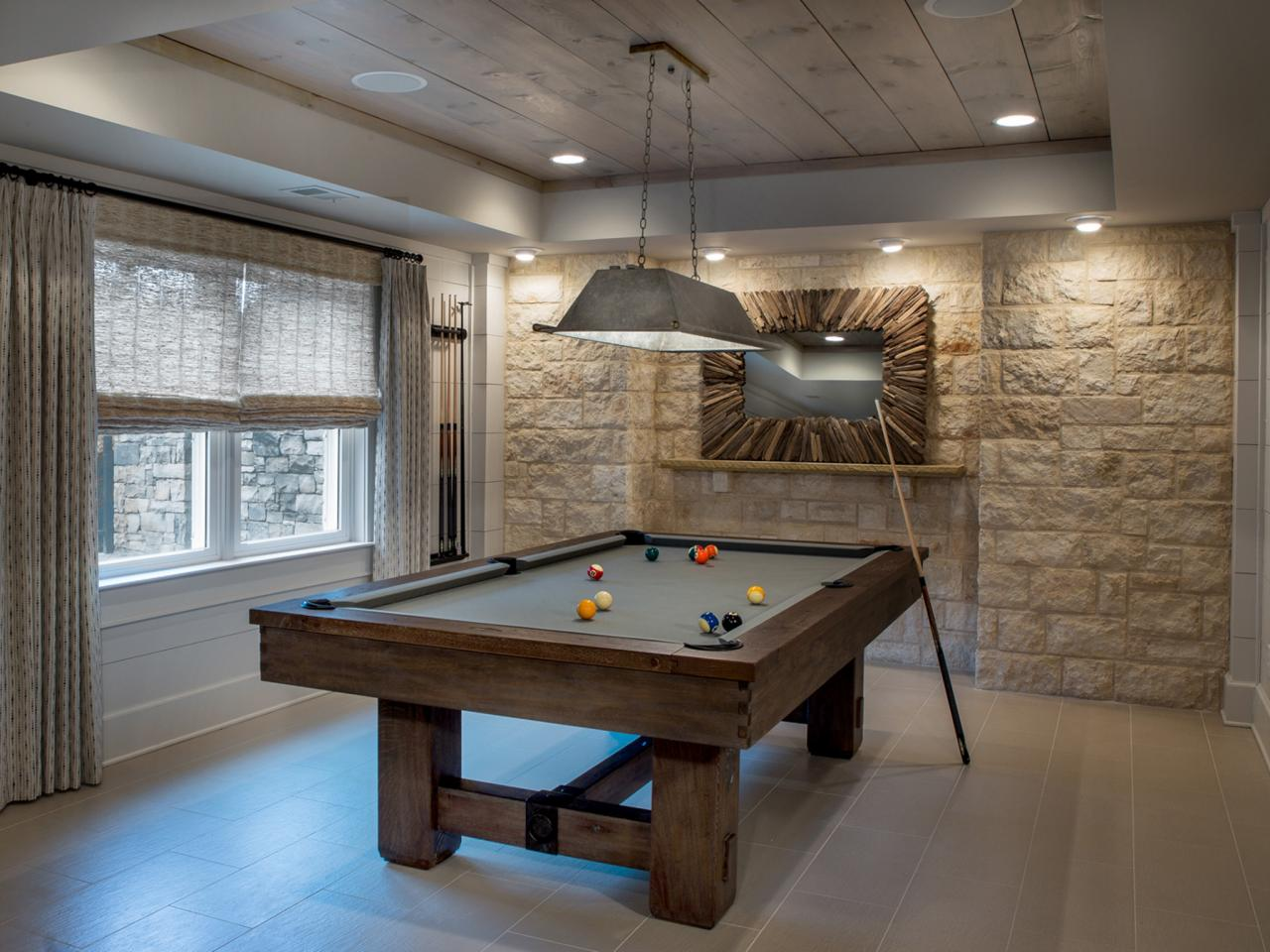 Game room design game room ideas gallery decorating and design ideas for interior rooms hgtv Room decorating games for adults