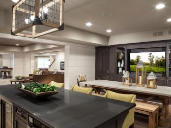 Bright and Inviting Basement Living