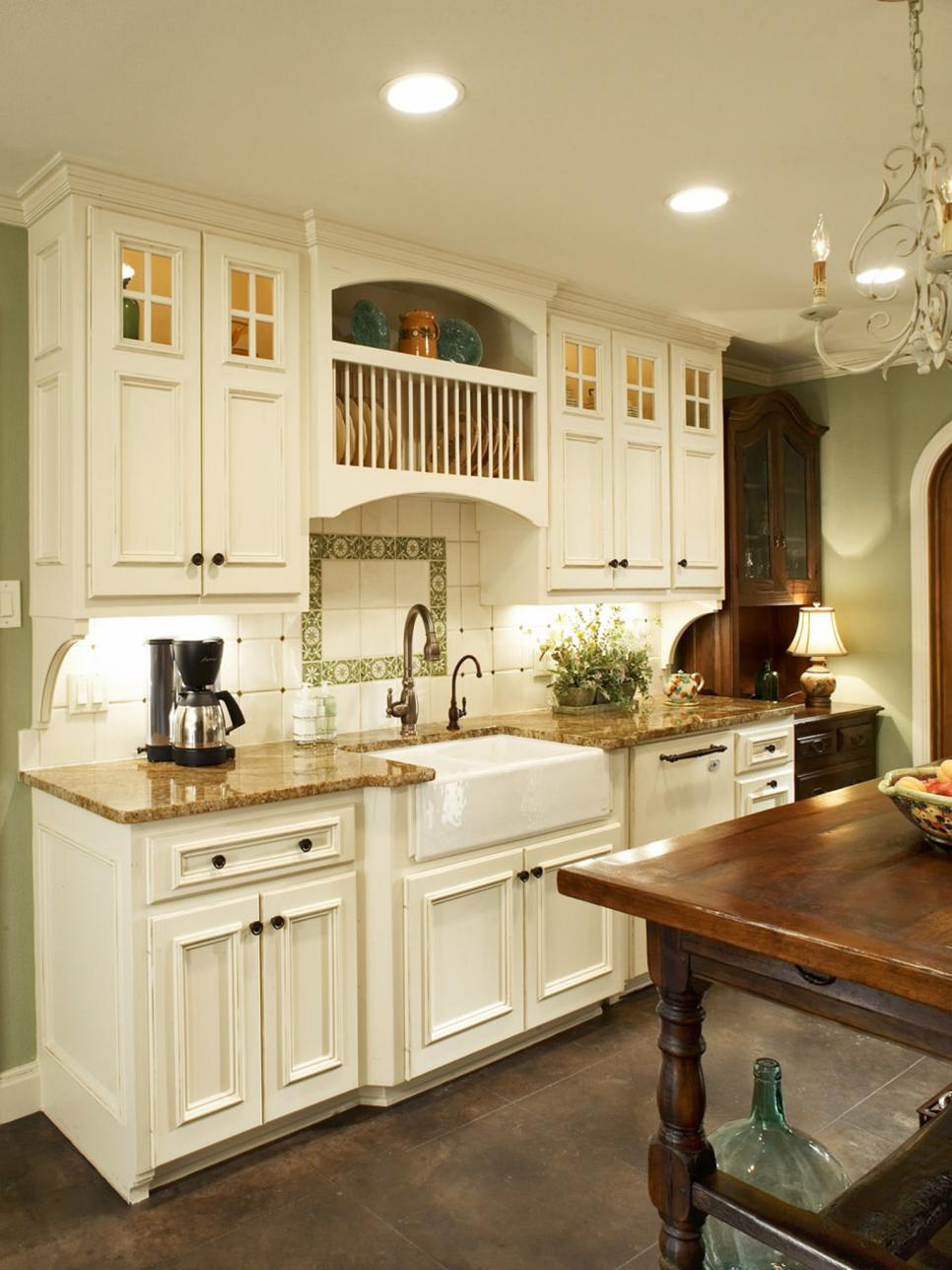 Fantastic farmhouse sinks apron front sinks in gorgeous - Country style kitchen cabinets design ...