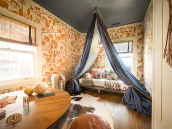 Adventurous Boy's Room With a Nomadic Tent
