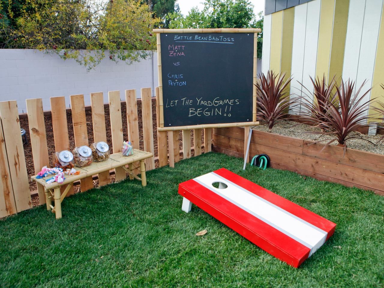 yard games this tiny backyard isn t just kid friendly it s pet