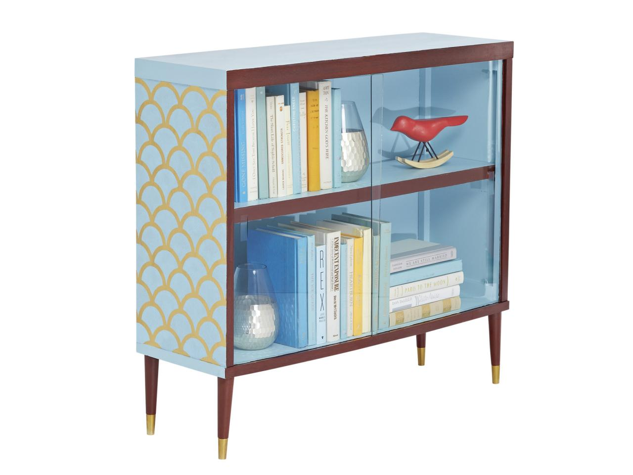 How To Dress Up An Old Bookcase Hgtv