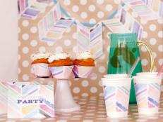 Watercolor Party Supplies