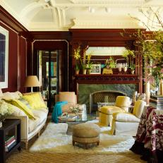 Eclectic Salon With French and Italian Antiques
