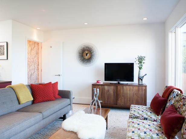 Midcentury-Style Living Room