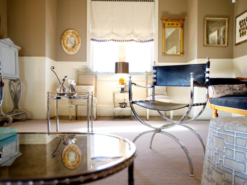 20 stunning interiors that mix metallics hgtv for International home decor llc