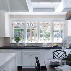 black and white traditional kitchen photos | hgtv