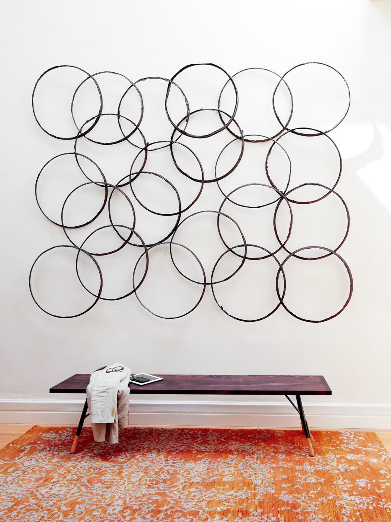 White Dimensional Wall Decor : Great ideas for d wall art that aren t antlers hgtv s
