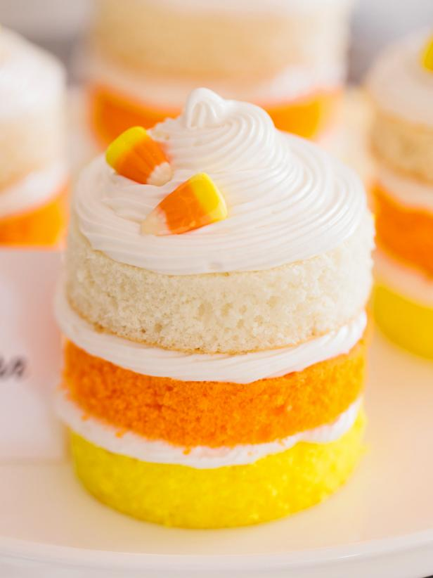Candy Corn Cakes