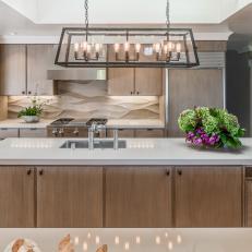 Photos HGTV - Contemporary kitchen chandeliers