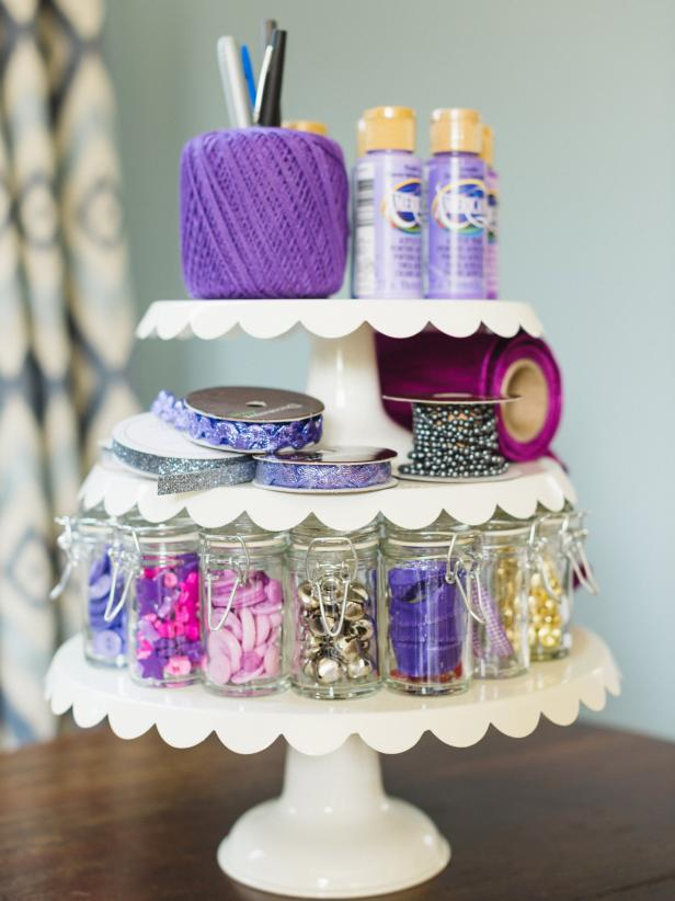 creative uses for cake stands