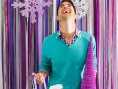 Holiday Ribbon Photo Backdrop