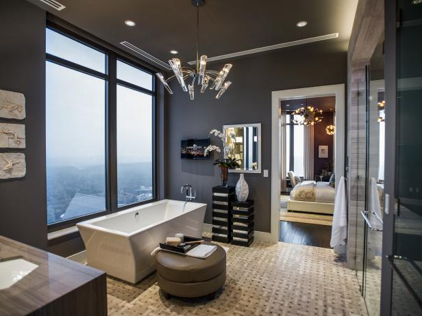 Gray Bathroom Design Ideas with Pictures | HGTV