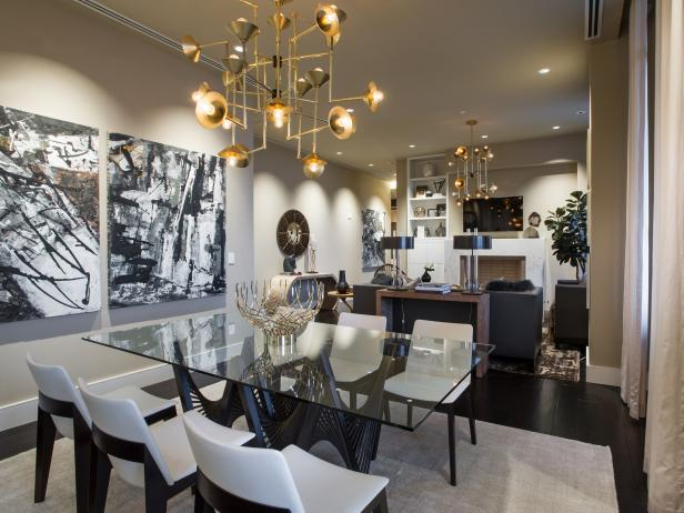 Dining Room Pictures From HGTV Urban Oasis 2014