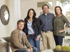 HGTV Hosts Chip and Joanna Gaines With Jeff and Michelle Sanders