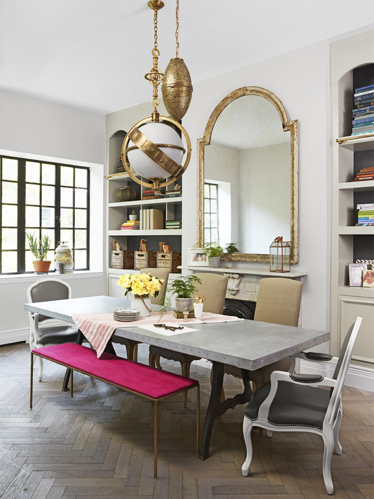 Genevieve gorder 39 s nyc apartment renovation genevieve 39 s for Dining room renovation