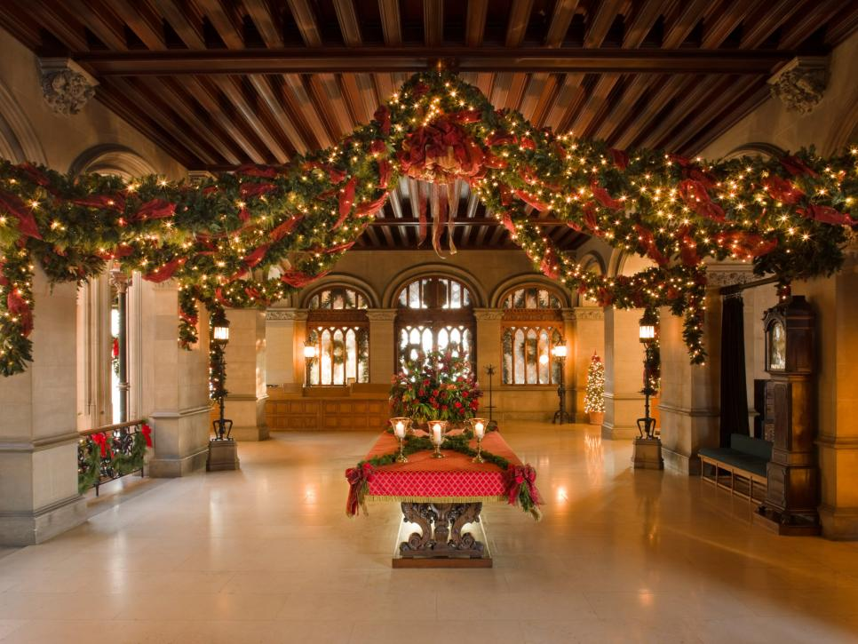 Take A Holiday Home Tour Of Biltmore House Hgtv