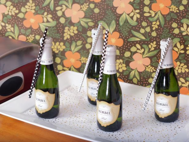 Miniature Champagne Bottles