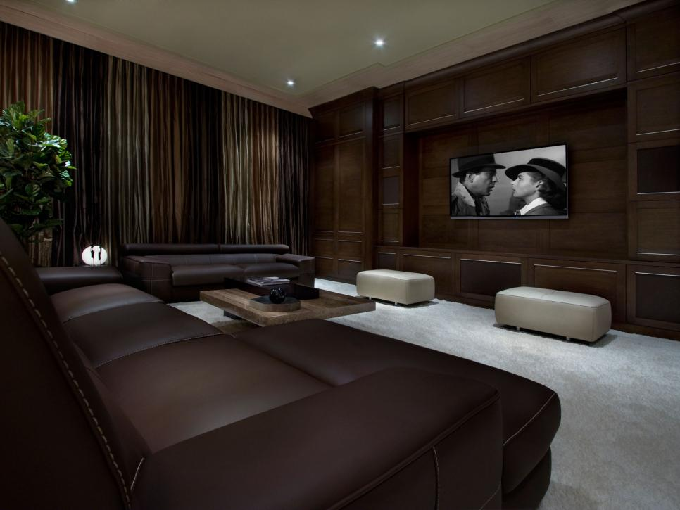 Home Theater Ideas - Design Ideas For Home Theaters