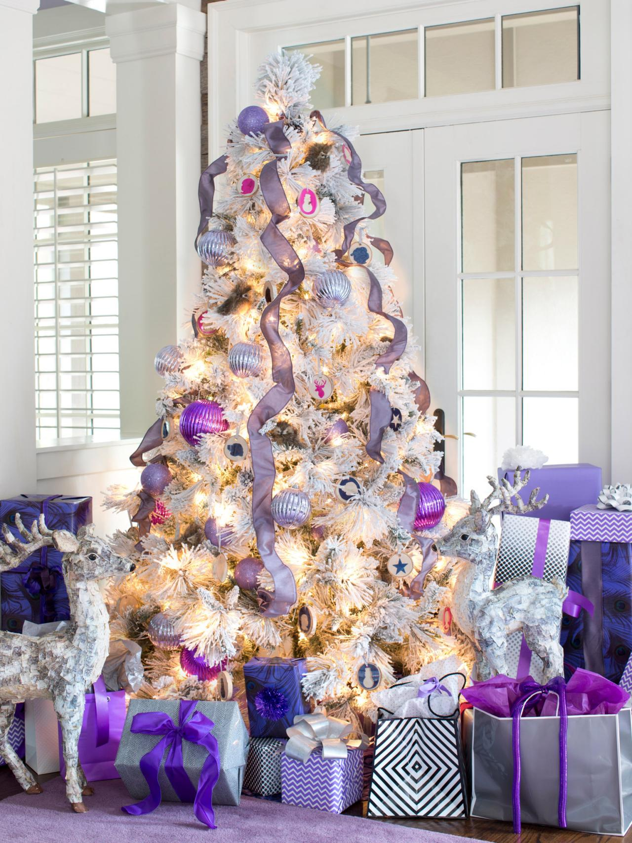 Lavender christmas ornaments - Non Traditional Holiday Color Palettes Hgtv S Decorating Design Blog Hgtv