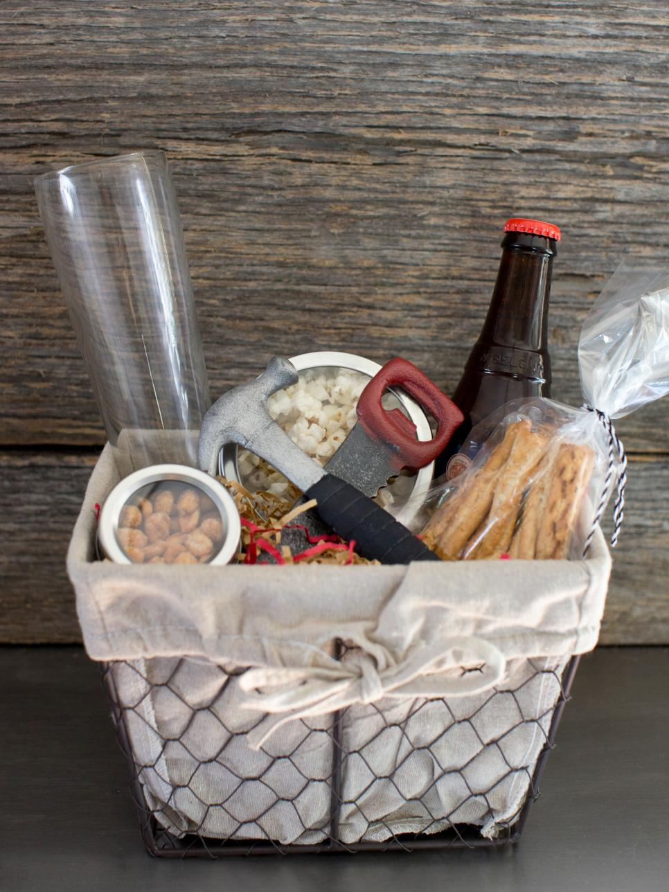 Christmas gift baskets hgtv