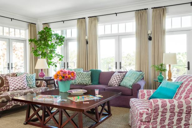 Pastel Living Room on HGTV.com