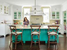 Updated Cottage Kitchen With Pastels