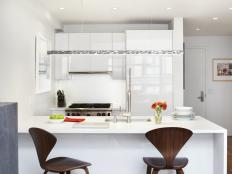 Small & Gleaming Kitchen