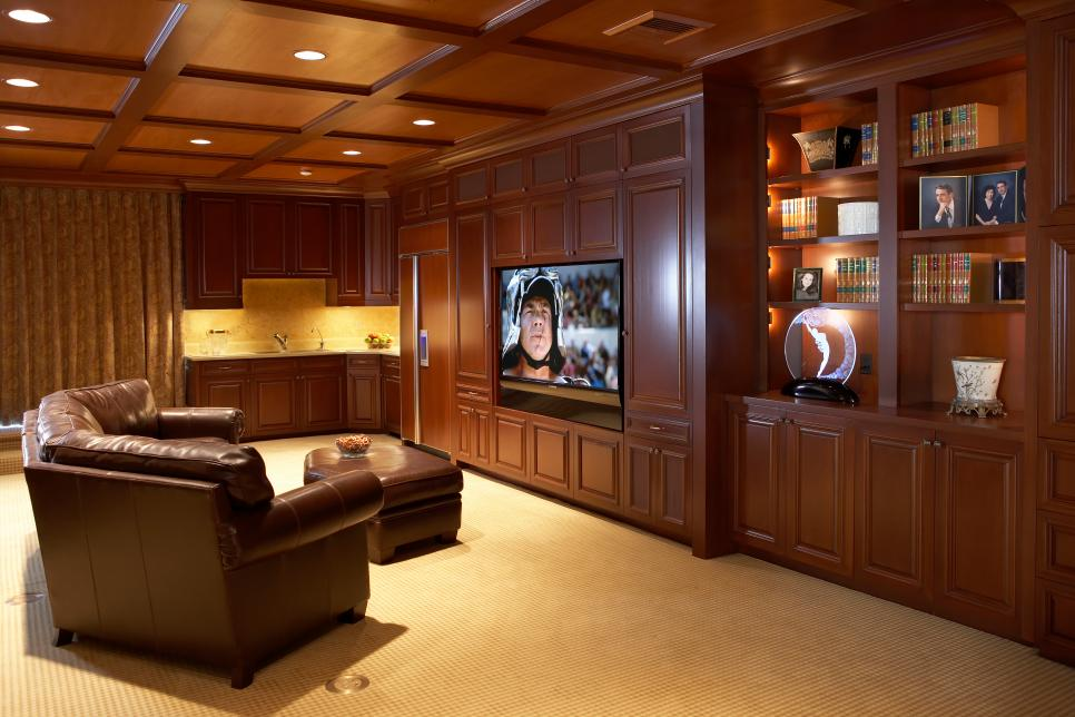 Media room design ideas hgtv for Living room ideas quiz