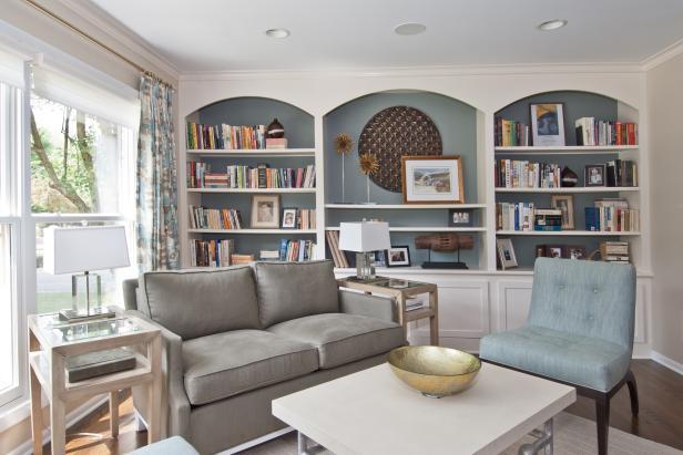 Off-Kilter Furniture Arrangement