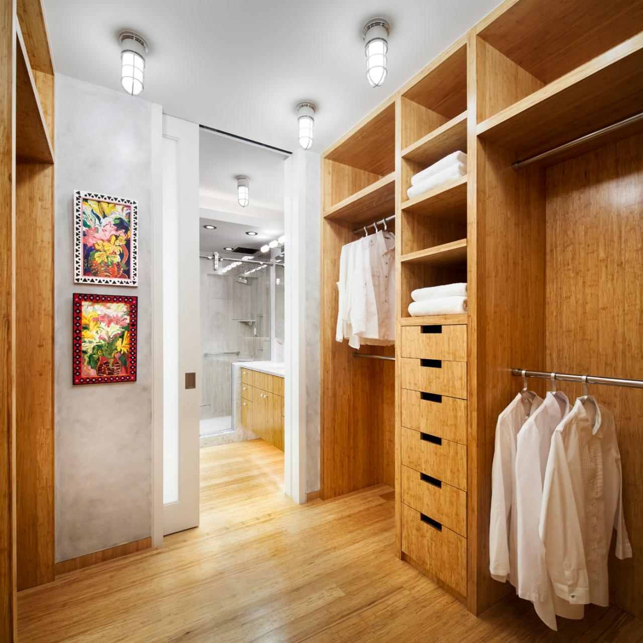 master bath leads to walk in closet dressing room hgtv. Black Bedroom Furniture Sets. Home Design Ideas