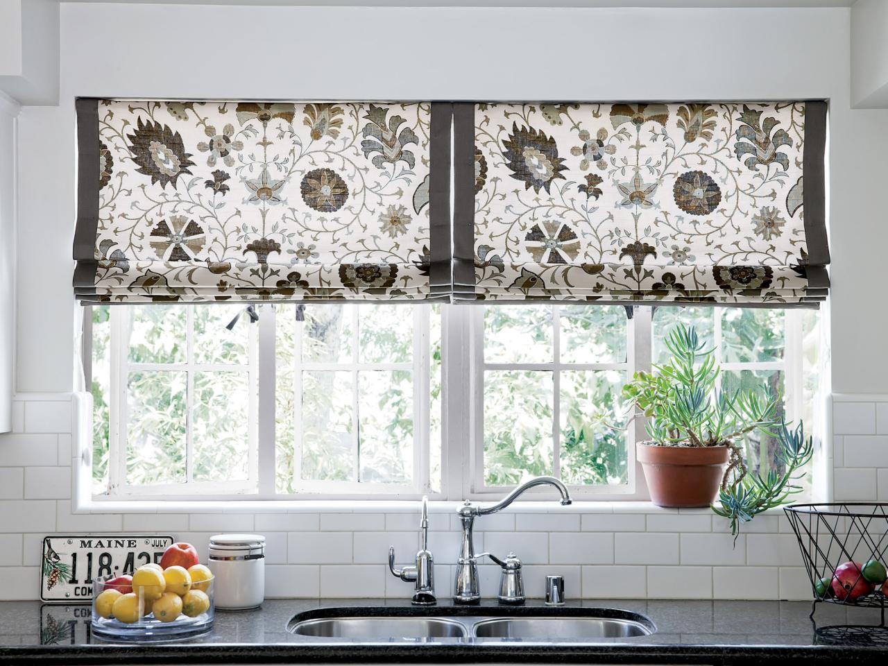 Creative Kitchen Window Treatments: HGTV Pictures & Ideas | HGTV