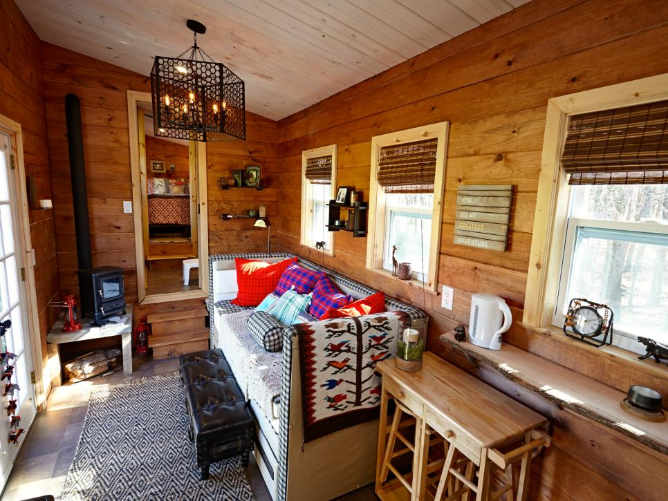 13 cool tiny houses on wheels hgtv - Small homes big space collection ...